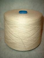 Cone 50/50 % Wool/rayon Yarn 2/ply Natural