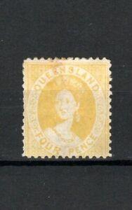 Australia-Queensland-1876-78-4d-Amarillo-MH
