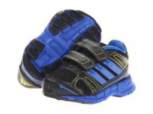 Adidas Adifast CF I Black Navy Blue Q34128 Infants Toddler Strap ...