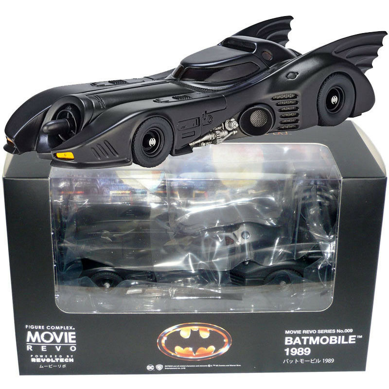 Kaiyodo Revoltech Figure Complex Movie REVO Series No.009 Batman Batmobile 1989