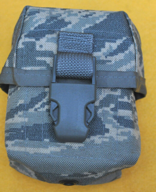 USAF ABU Digital Tiger stripe Mag Pouch Double 10 Round 308 7.62 NATO