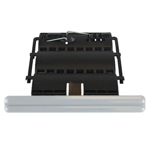 10 Somfy Clip-Wellenverbinder 2-gliedrig 60er Achtkantwelle Hochschiebesicherung