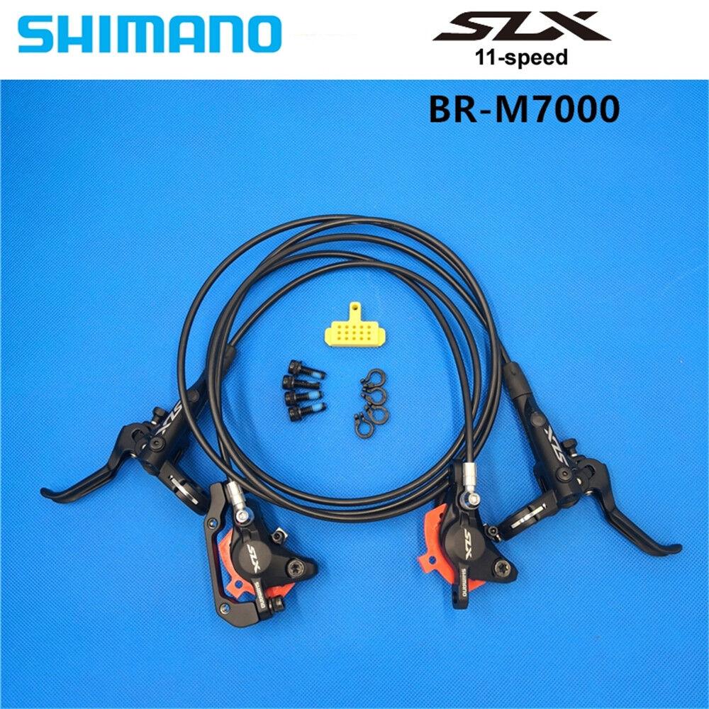 Conjunto De Freno Shimano SLX M7000 ICE Tech Delantero y Trasero para Bicicleta de Montaña Bici Bicicleta Piezas