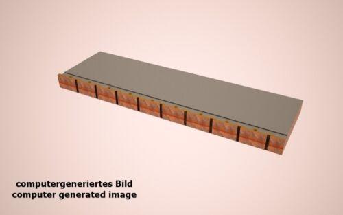 Pier Quay 1:1250 para modelos nave 80mm 4x kaiplatte 1