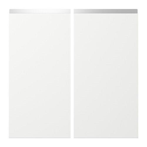 Ikea Nodsta Metod  weiß Tür Front 25 x 80 cm Eckunterschrank 602.060.55  NEU