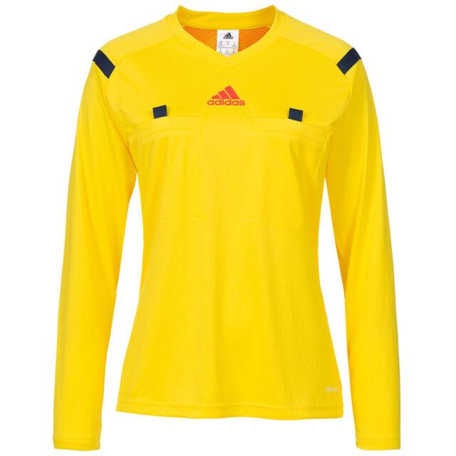 18d376bea Womens adidas Yellow World Cup Referee Shirt Climacool Long Sleeve ...