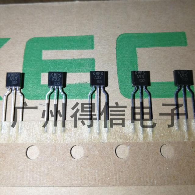 MPSA 93 transistor pnp 200v 0,5a 0,625w to92