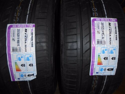 2x 255//35 19 96W XL NEXEN NFERA 2553519 NEW QUALITY CAR TYRES EXCELLENT WET GRIP