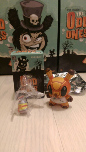 Roach Worldwide Free S//H Kidrobot  Scott Tolleson The Odd Ones Dunny 3/""