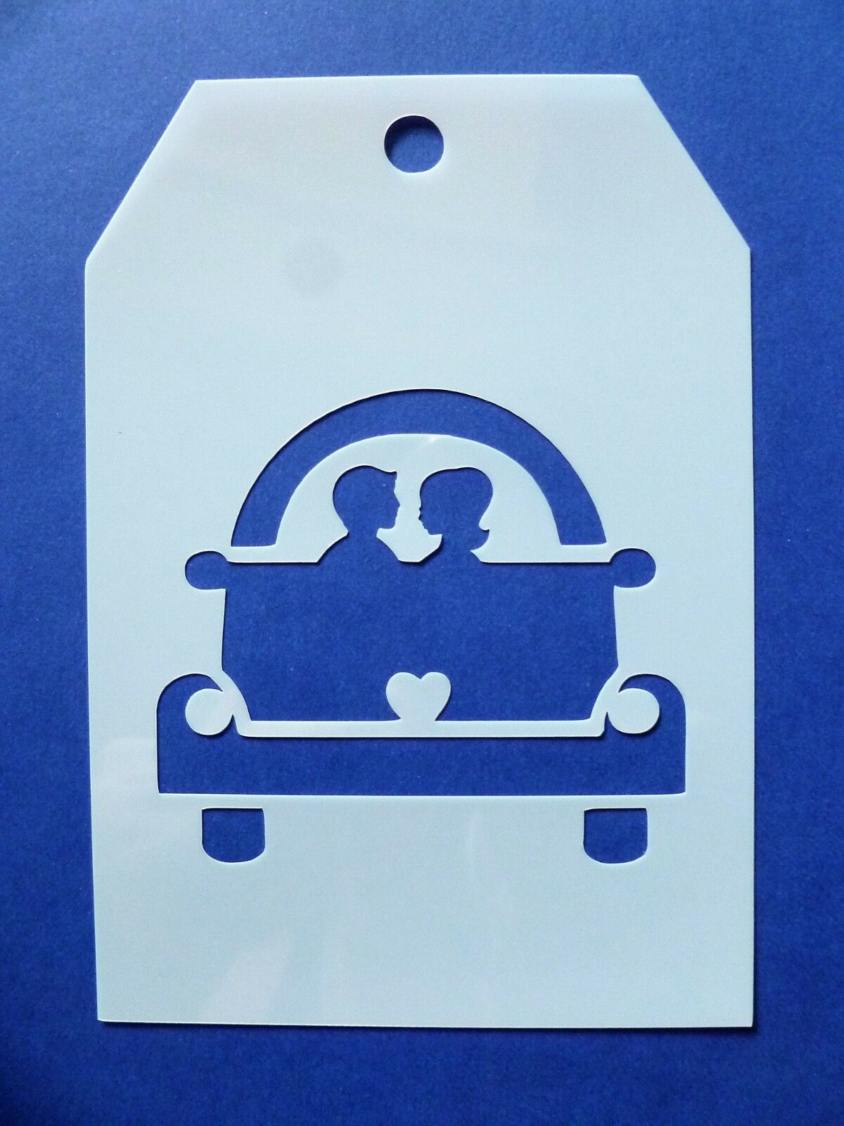 Flexible Stencil *MOTHER ELEPHANT /& BABY* Embossing Card Making 19cm x 9cm