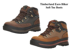 e8cd562f14f Timberland PRO Work Boots Euro Hiker Soft Toe Waterproof Work Boots ...