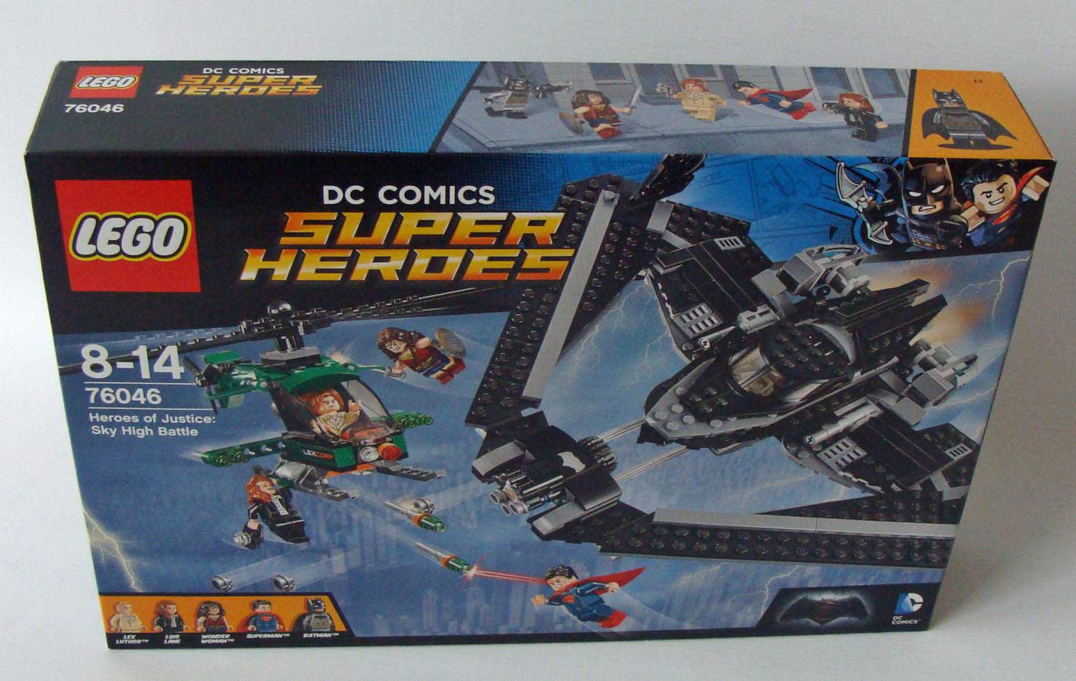 Lego® Super Heroes 76046 Helden der Gerechtigkeit Duell in der Luft 8-14 J. Neu