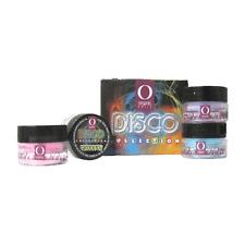 ORGANIC NAILS DISCO COLLECTION (kit con 8 frascos de 4g ea frasco)