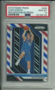 LUKA-DONCIC-2018-PRIZM-RC-RWB-PSA-10-PLEASE-READ-BUYBACK-PACK-CHASE