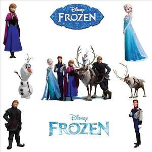 frozen elsa anna olaf kristoff sven hans character stickers
