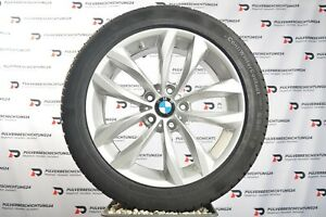 """Orig 18"""" BMW 5er f10 f11 6er f06 f12 f13 double rayons 609 Hiver Roues Jantes"""
