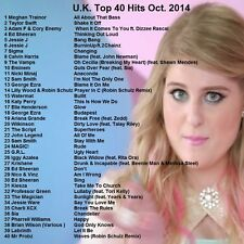 Promo Video DVD, UK & Euro Top 40 Hits, Oct. 2014! Dance/Pop Videos Only on Ebay
