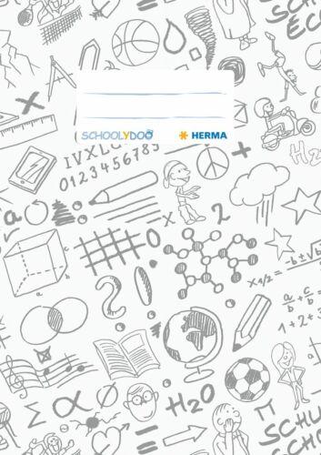"""HERMA Heftschoner /""""Schoolydoo/"""" DIN A5 aus PP weiß"""