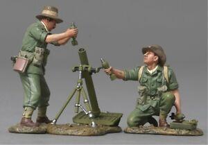 THOMAS GUNN WW2 PACIFIC RS042A AUSSIE 8CM MORTAR & CREW MIB