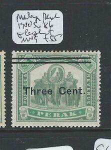 MALAYA PERAK (P0910B) ELEPHANT 3C/$1.00 SG 86 NGAI