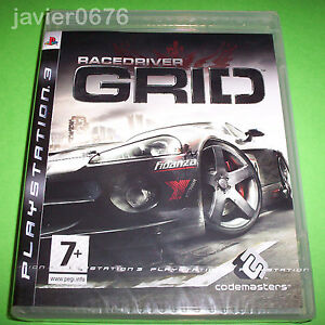 GRID-RACE-DRIVER-NUEVO-Y-PRECINTADO-PAL-ESPANA-PLAYSTATION-3-PS3