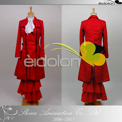 EE0013AS Black Butler Madam Red Cosplay Costume