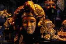 575097 Carnival Masks Venice Italy A4 Photo Print