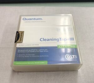 NEW-SEALED-Quantum-Cleaning-Tape-III-0-5-INCH-Cleaning-Cartridge-THXHC02