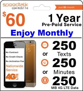 1-Year-Prepaid-Wireless-Plan-No-Contract-12-Months-Package-GSM-SIM-Card