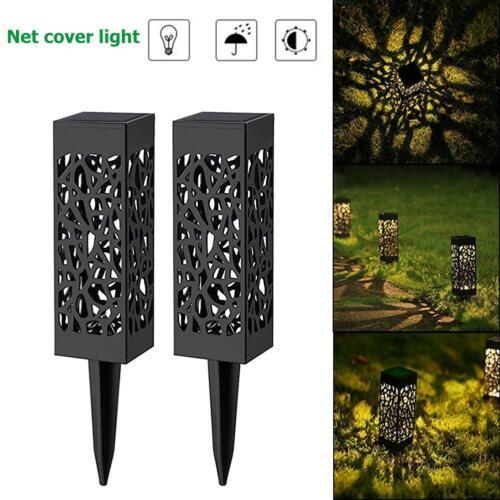 LED Solar Lantern Outdoor Waterproof Retro Hanging Solar Lamp Decor Patio Garden