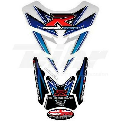 Protection de réservoir Motografix Blanc//Bleu Suzuki GSR750   NEUF