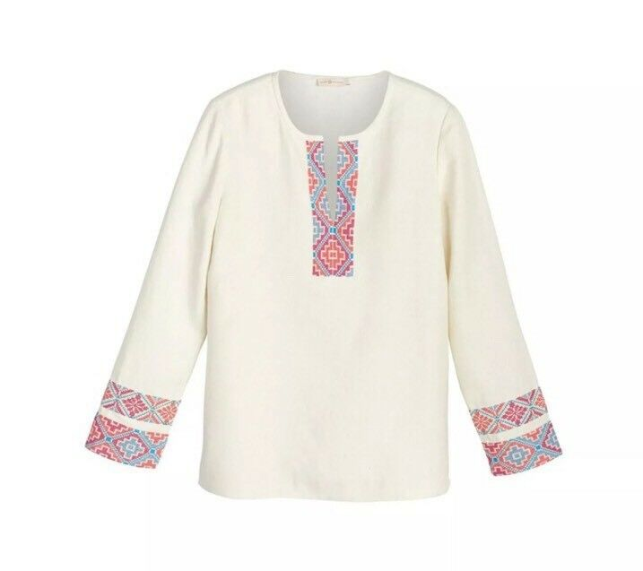NWT Retail  Tory Burch McKenna Tunic Size 6