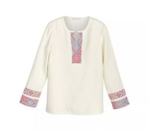 0adedaee22d Image is loading NWT-Retail-350-Tory-Burch-McKenna-Tunic-Size-