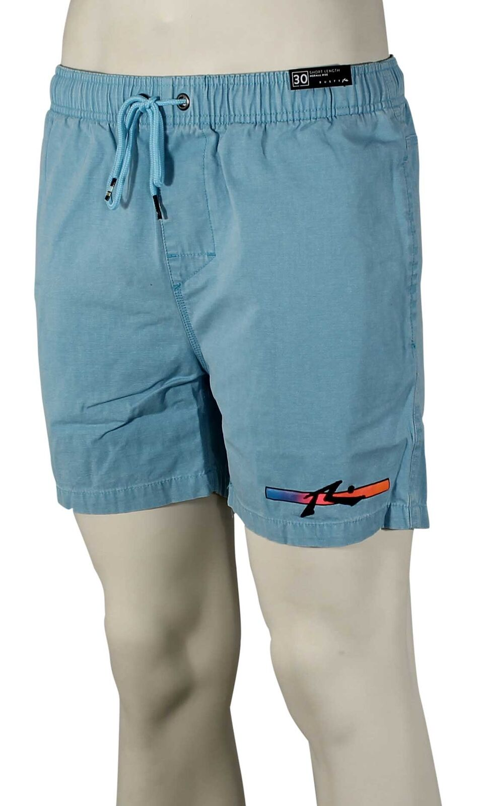 Rusty Barred Volley Shorts - Maui bluee - New
