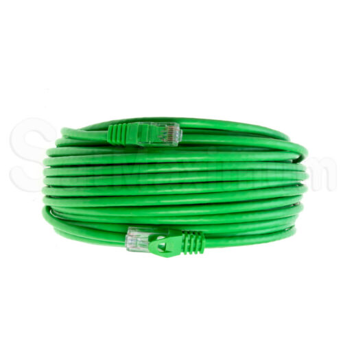 CAT6 GREEN Ethernet Cable CAT 6 Lan Network RJ-45 Internet Router Patch Cord LOT