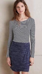 92d678c859dfc NEW Anthropologie Mixed Stripe Dress by Dolan Left Coast Size L & XL ...