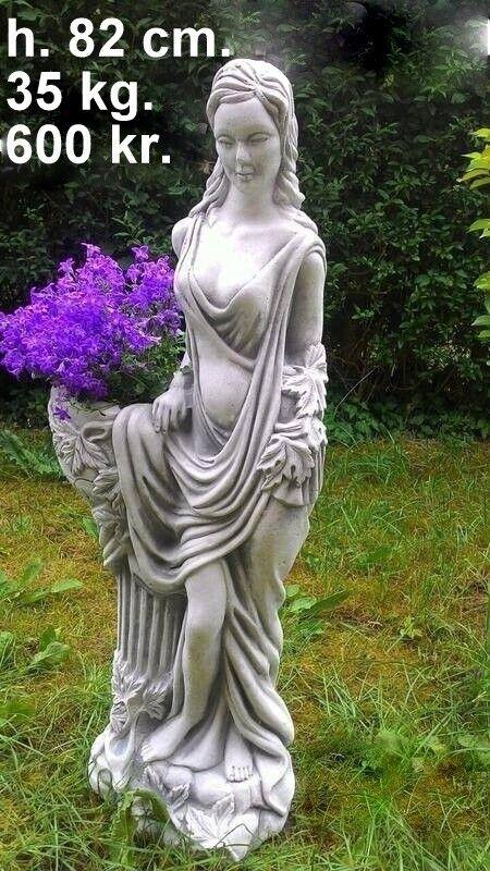 Havefigurer - Smukke damer