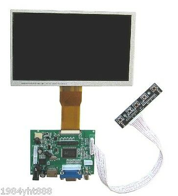 "8"" 8 inch TFT LCD Display ModuleHDMI+VGA+2AV Driver Board for Raspberry Pi"