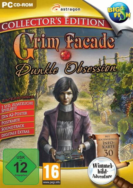 Grim Facade: Dunkle Obsession-Collector's Edition Wimmelbild Adventure NEUWERTIG