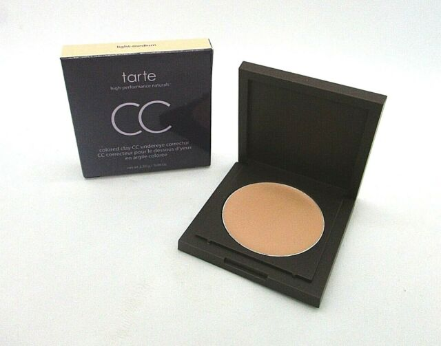 Tarte Colored Clay CC Undereye Corrector ~ Light Medium~ 0.08 oz / 2.30 g / BNIB