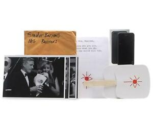 The-Lovebirds-Screen-Used-Blackmail-Envelope-Phone-amp-Paddle-Set-Sc-A54-amp-55