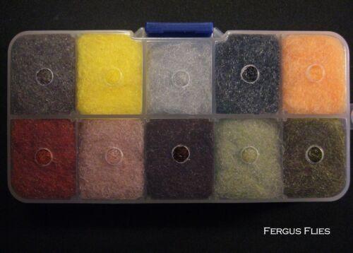 3 Doublage Distributeur Boîtes 40 couleurs différentes de Antron Sparkle doublage!