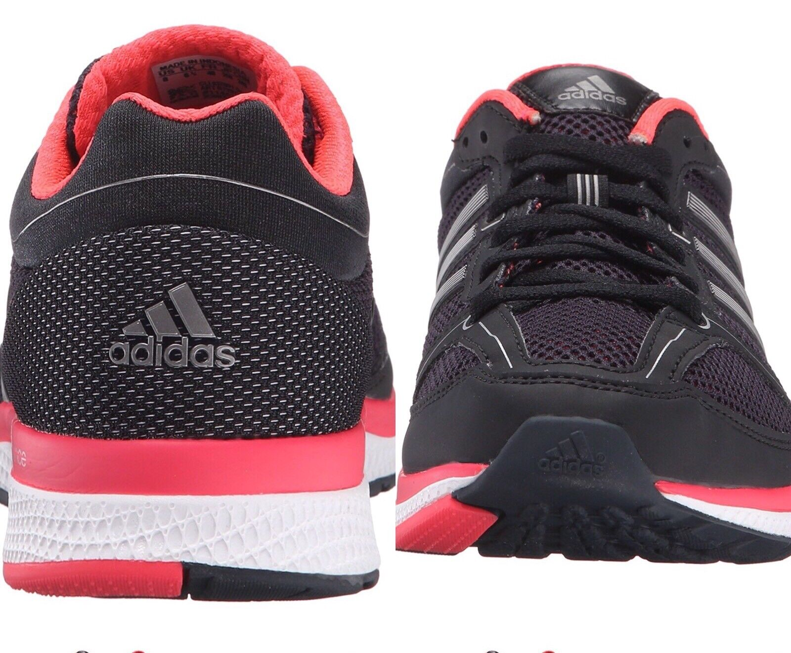 ce3eb4f2e5ce5 ... adidas Women s Running Running Running Shoes Sneakers Mana RC Bounce W  Black Pink B72973 New ...