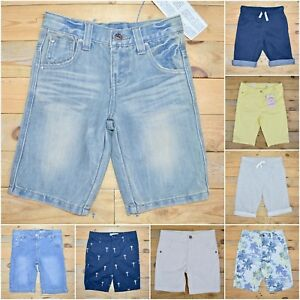 Boys-Girls-Multi-Choice-Cotton-Jeans-Shorts-Listing-Blue-Pink-Black-Save