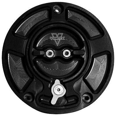 Vortex Gas Cap V3 Black For Suzuki GSX-R600/R750/ GC520K 7030438