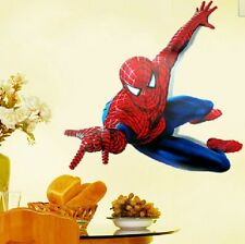 2014 Cartone Film Spider-man Eroe Adesivi Da Parete Decorazioni Adesive