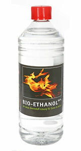 1-L-BIO-ETHANOL-96-De-Combustible-cheminee-alcool-wandkamin-desinfection-Inodore