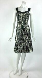 Elana Kattan Sleeveless Fit /& Flare Knit Scoop Neck Dress Sz Small NWT