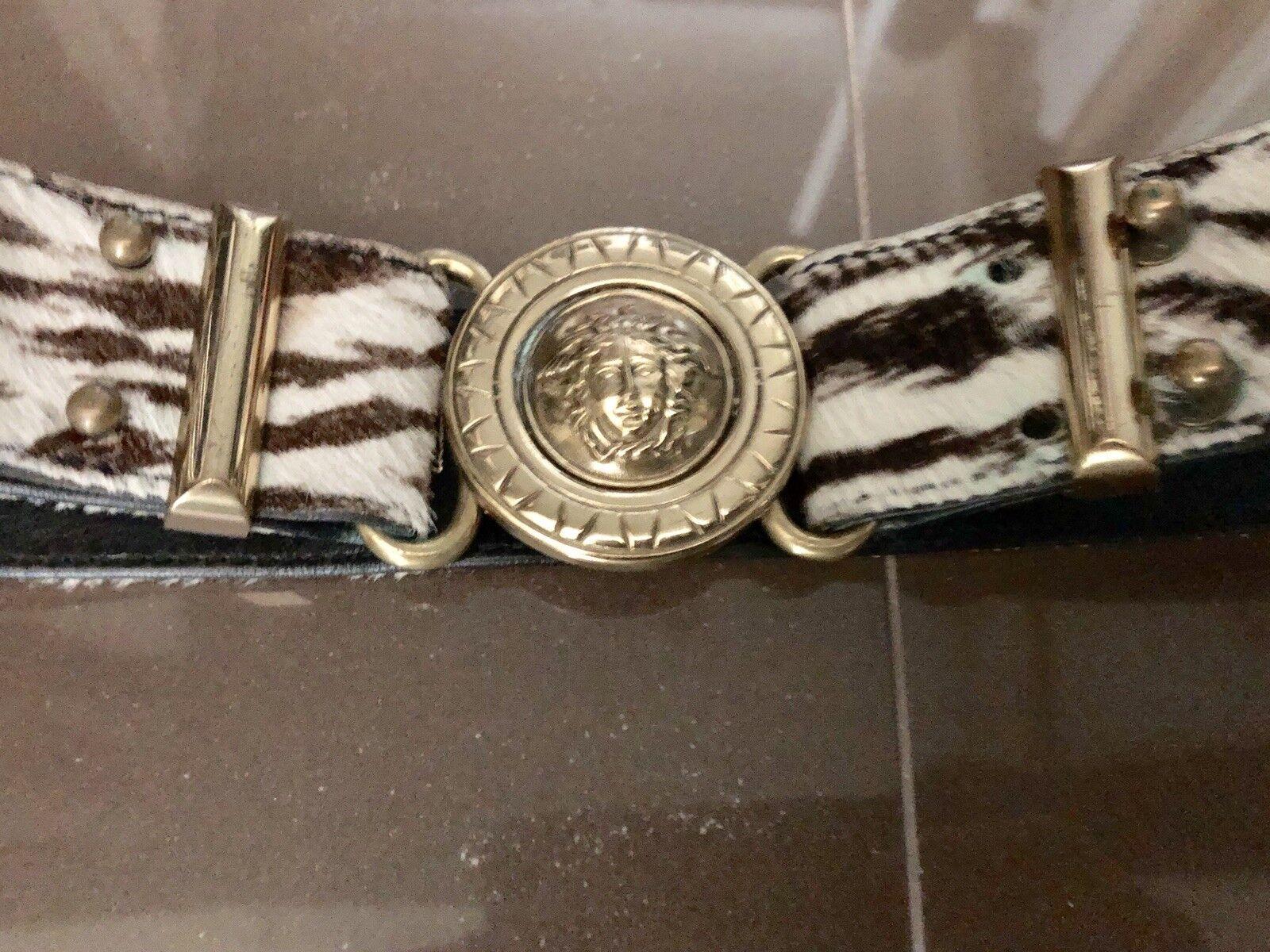 gianni versace vintage Belt - image 11