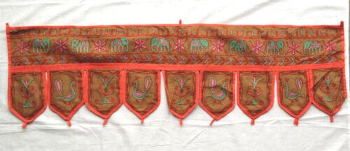Indian Handicrafts Door Window Toppers Valance Traditional Ethnic Hanging Toran